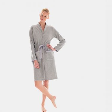 Laurence Tavernier Softy Buttoned Short Robes