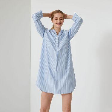 Laurence Tavernier Essentiel Raye Night Shirts