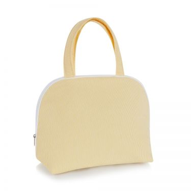 Yellow Pique Handled Bag