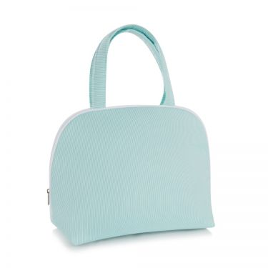 Green Pique Handled Bag