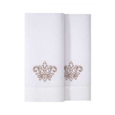 Yves Delorme Tenue Chic Set of Two Hand Towels
