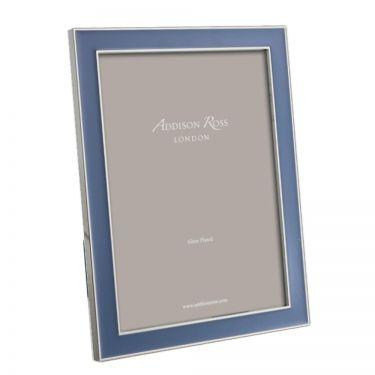 "Denim Blue Enamel 8x10"" Frame"