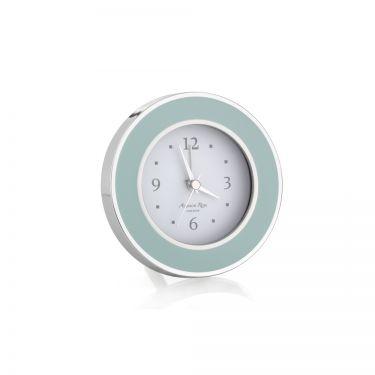Light Blue Enamel alarm Clock
