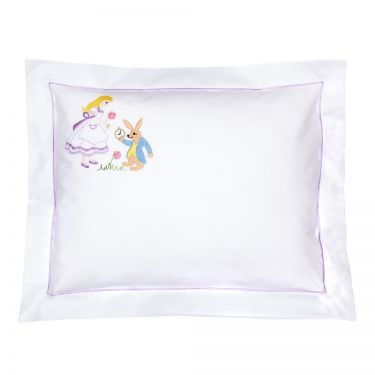 Baby Pillowcase Alice in Wonderland (pillow sold separately)