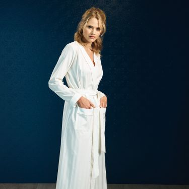 Yves Delorme Astral Long Robe