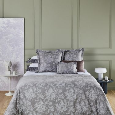 Yves Delorme Aurore Cotton Sateen 300 Thread Count Duvet Covers