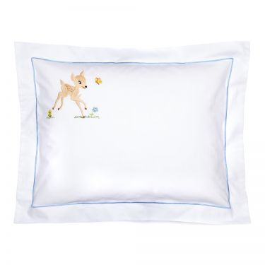 Baby Pillowcase Blue Bambi (pillow sold separately)