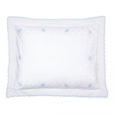Baby Pillowcase Blue Butterfly (pillow sold separately)