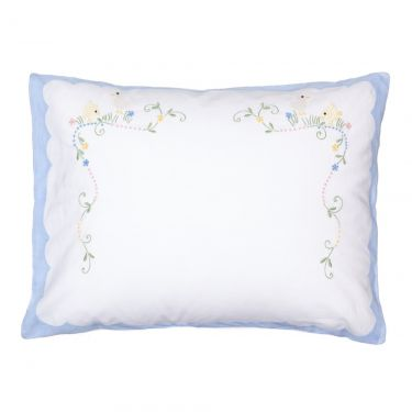 Baby Pillowcase Blue Chicks (pillow sold separately)