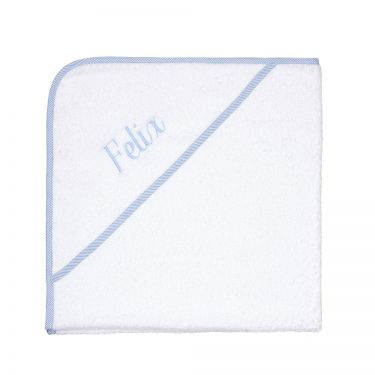 Hooded Baby Towel Blue
