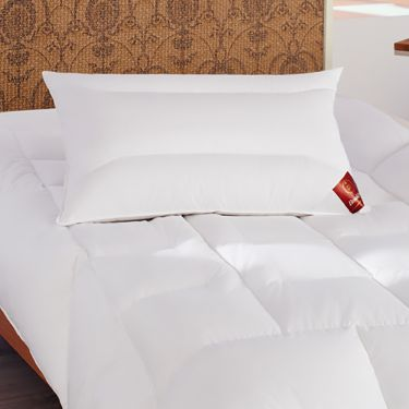 Brinkhaus White Superior Hungarian Goose Down Sapphire Pillows