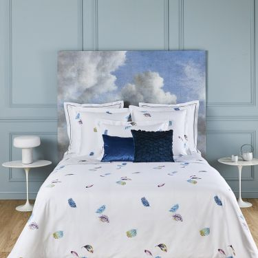 Yves Delorme Céleste Cotton Sateen 300 Thread Count Duvet Covers