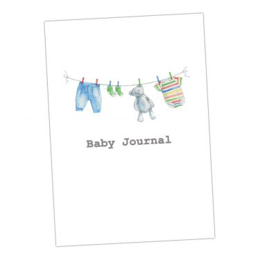 Baby Journal - Blue