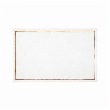 Yves Delorme Couture Duetto Terre Bath Mat
