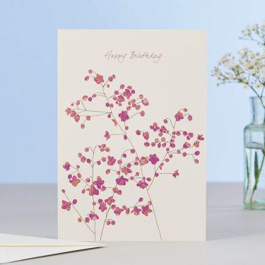Thalictrum Happy Birthday Card