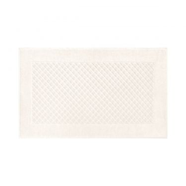Yves Delorme Egyptian Cotton Modal Etoile Nacre / Cream Bath Mat