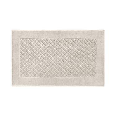 Yves Delorme Egyptian Cotton Modal Etoile Pierre / Stone Bath Mat