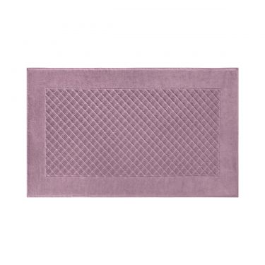 Yves Delorme Egyptian Cotton Modal Etoile Bruyere / Heather Bath Mat