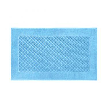 Yves Delorme Egyptian Cotton Modal Etoile Cobalt / Blue Bath Mat