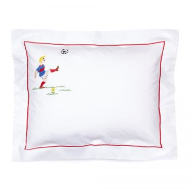 Baby Pillowcase Footballer (pillow sold separately)