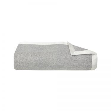 Nymphe Silver Cashmere Blanket