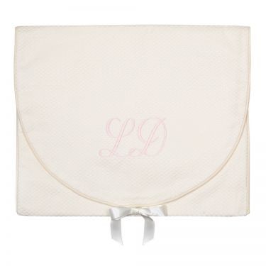Cream Pique Lingerie Cases