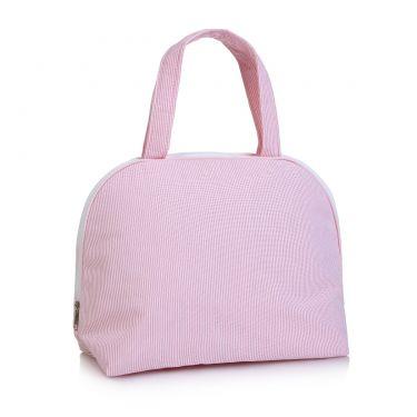Pink Pique Handled Bag