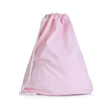 Pink Pique Drawstring Bag