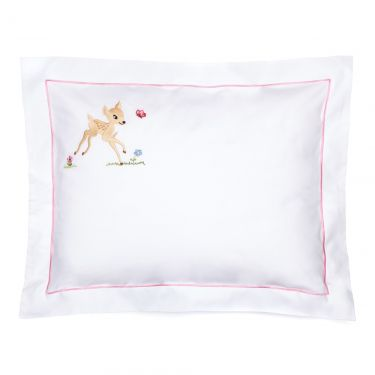 Baby Pillowcase Pink Bambi (pillow sold separately)