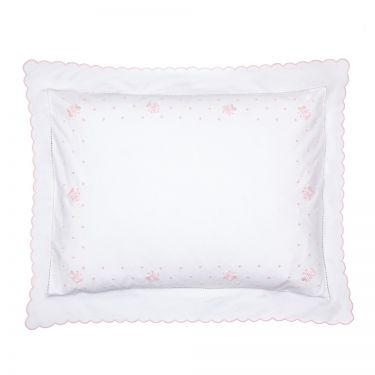 Baby Pillowcase Pink Butterfly (pillow sold separately)