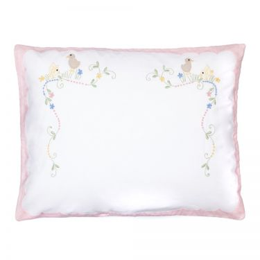 Baby Pillowcase Pink Chicks (pillow sold separately)