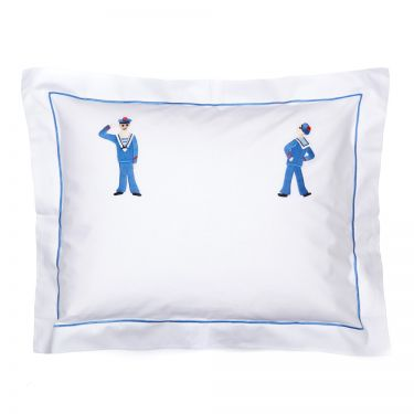 Baby Pillowcase Sailors (pillow sold separately)