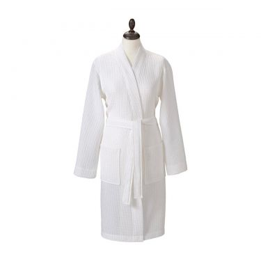 Adult's White Spa Robe
