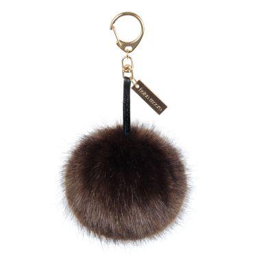 Treacle Faux Fur Pom-Pom Key Ring