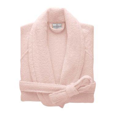 Yves Delorme Egyptian Cotton Modal Etoile Blush / Pink Bath Robes