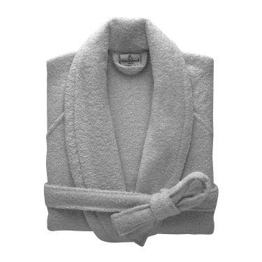 Yves Delorme Egyptian Cotton Modal Etoile Platine / Grey  Bath Robes