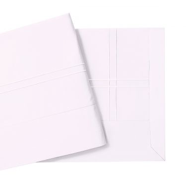 Yves Delorme Couture Adagio Perle 500 Thread Count Flat Sheets