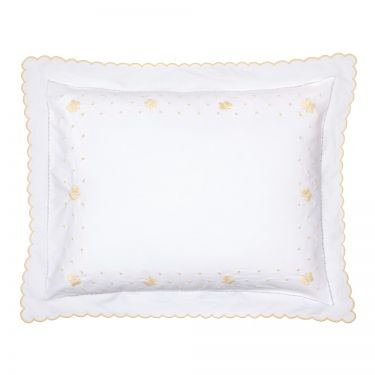 Baby Pillowcase Yellow Butterfly (pillow sold separately)