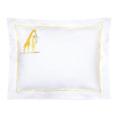 Baby Pillowcase Yellow Giraffes (pillow sold separately)