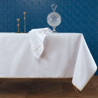 Yves Delorme Astral Tablecloths & Napkins
