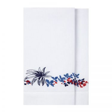 Baie Set Of Two Guest Towels