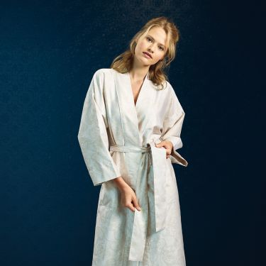 Yves Delorme Bel Ami Ivoire Kimonos