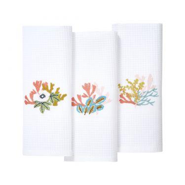 Calypso Set of 3 Guest Towels