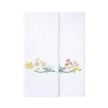 Herba Set of 2 Guest Towels