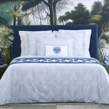 Yves Delorme Palmes Duvet Covers