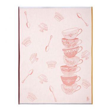 Sucrerie Cream Tea Towel