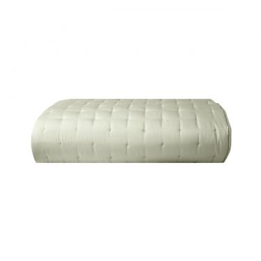 Yves Delorme Triomphe Sauge Quilted Bed Cover