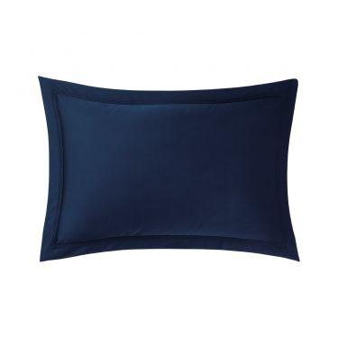Yves Delorme Triomphe Marine Cotton Sateen 300 TC Pillowcases