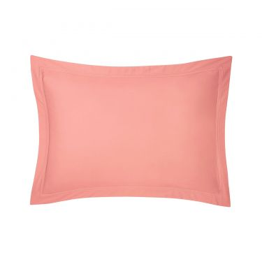 Yves Delorme Triomphe Peche Cotton Sateen 300 Thread Count Pillowcases