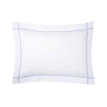 Yves Delorme Athena Opalia Cotton Percale 500 Thread Count Pillowcases